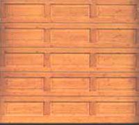 Секционные гаражные ворота Teckentrup GSH: исполнение кассета