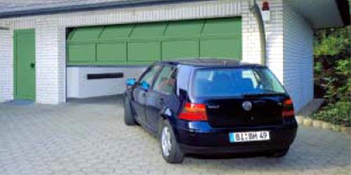 Секционные гаражные ворота Teckentrup GSA