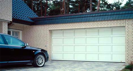 Секционные гаражные ворота Teckentrup GSA из алюминия