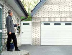 Секционные гаражные ворота Teckentrup GSW 20 гофр