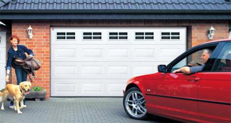 Секционные гаражные ворота Teckentrup GSW 40 кассета