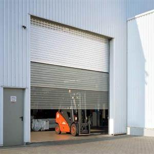 Промышленные автоматические рулонные ворота Teckentrup ThermoTeck скоростные