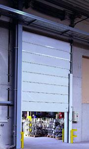 Противопожарные ворота Teckentrup: секционные ворота.