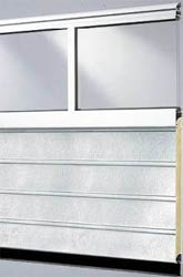 Секционные промышленные автоматические ворота Teckentrup серии SLW панели