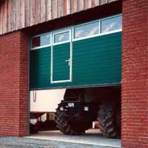 Секционные промышленные автоматические ворота Teckentrup серии SW