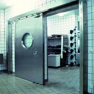 Противопожарные ворота Teckentrup: откатные ворота. Класс огнестойкости T90