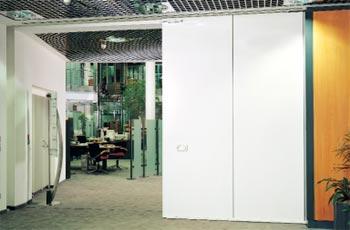 Промышленные откатные автоматические ворота Teckentrup серии dw 62-ME