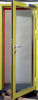 Противопожарные двери Teckentrup T90-1 из алюминия